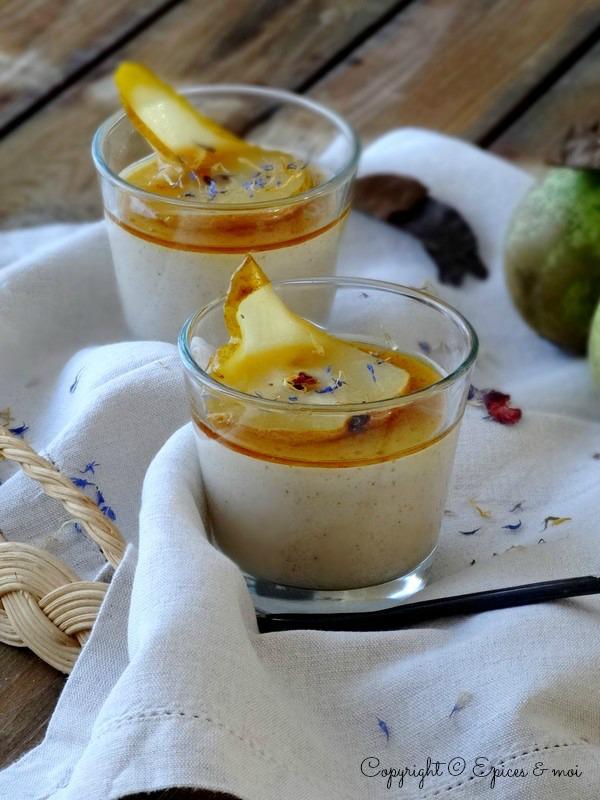 Epices & moi Crème poires bergamote 1
