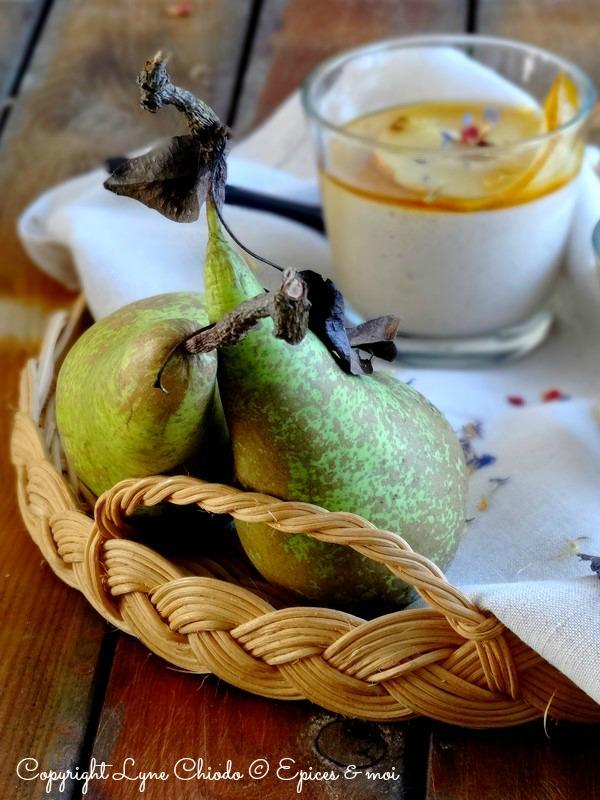 Epices & moi Crème poires bergamote 3