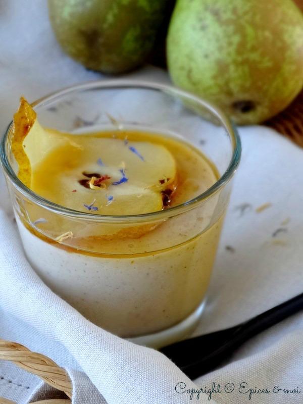 Epices & moi Crème poires bergamote 4