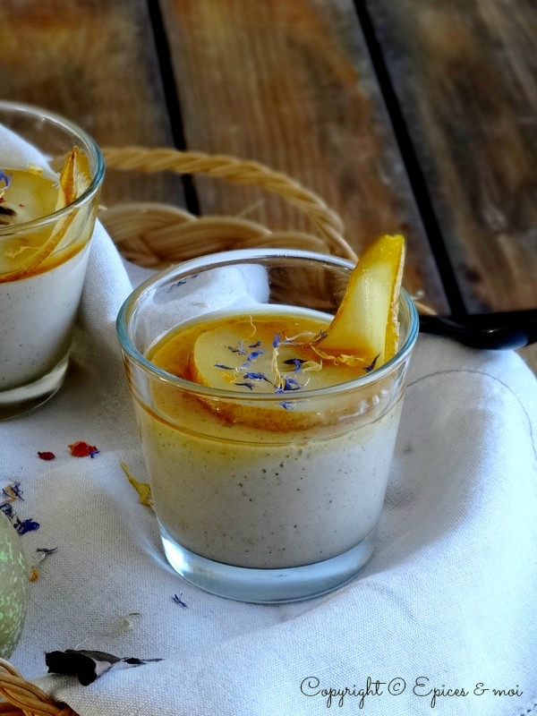 Epices & moi Crème poires bergamote 5