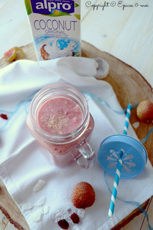 Epices & moi Smoothie litchis 4