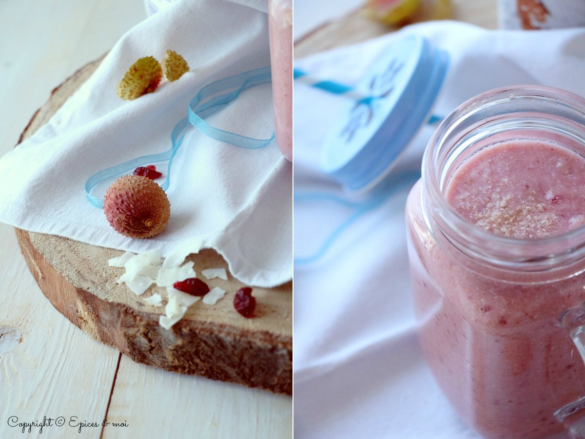 Epices & moi Smoothie litchis 9