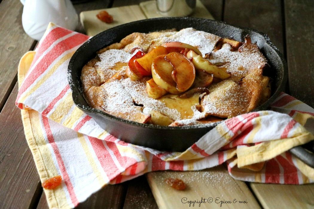 Epices & moi Dutch Baby Pancake 3