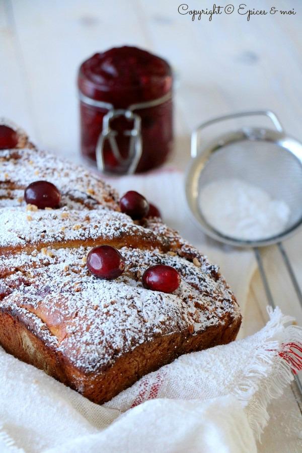 Epices & moi Pain cranberries7