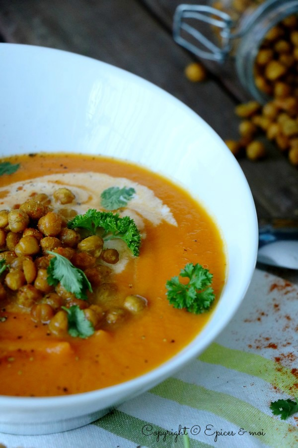 Epices & moi Soupe carottes tunisienne 3