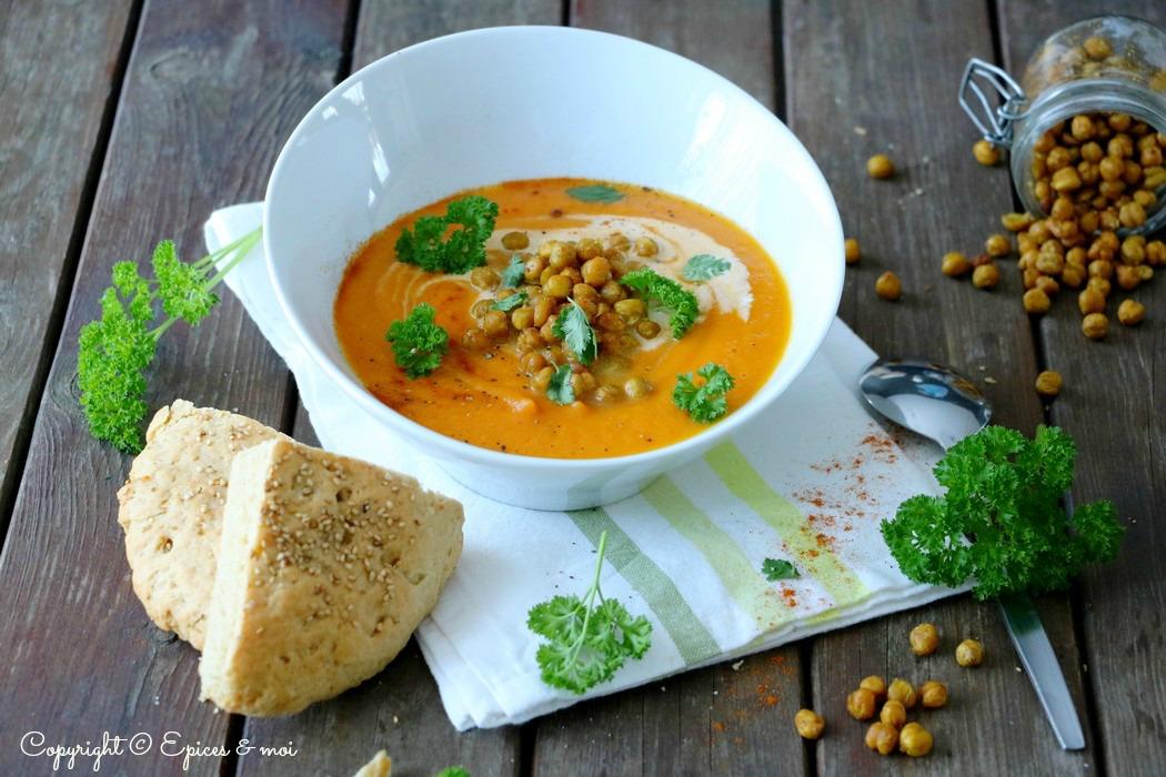 Epices & moi Soupe carottes tunisienne 5