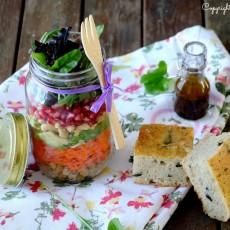 Epices & moi Foccacia salade huile d'olive 6