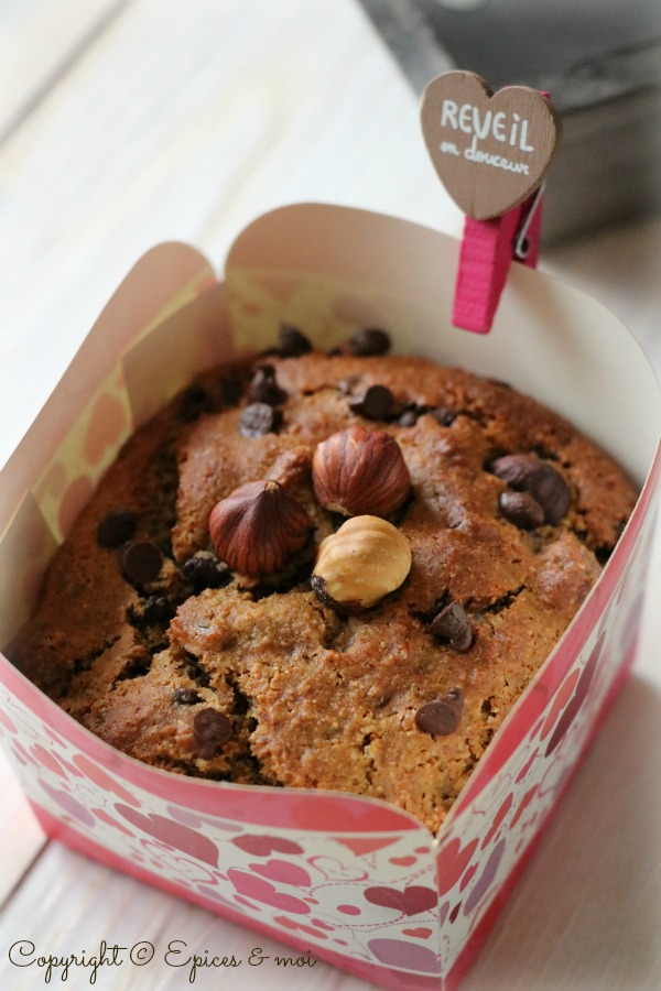Epices & moi Muffins choc noisettes 3