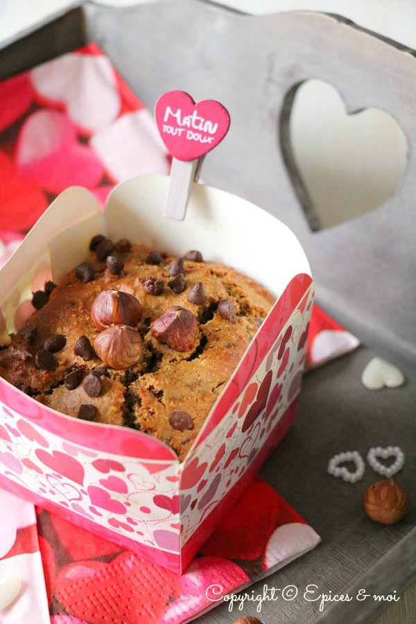 Epices & moi Muffins choc noisettes 5