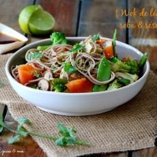 Epices & moi Wok légumes sésame 2