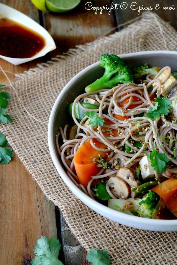 Epices & moi Wok légumes sésame 4