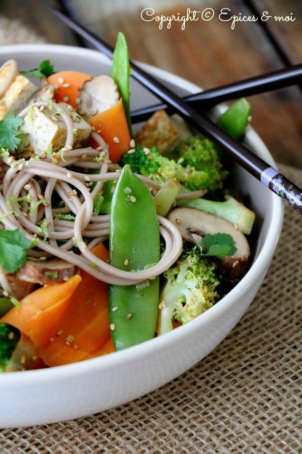 Epices & moi Wok légumes sésame 5