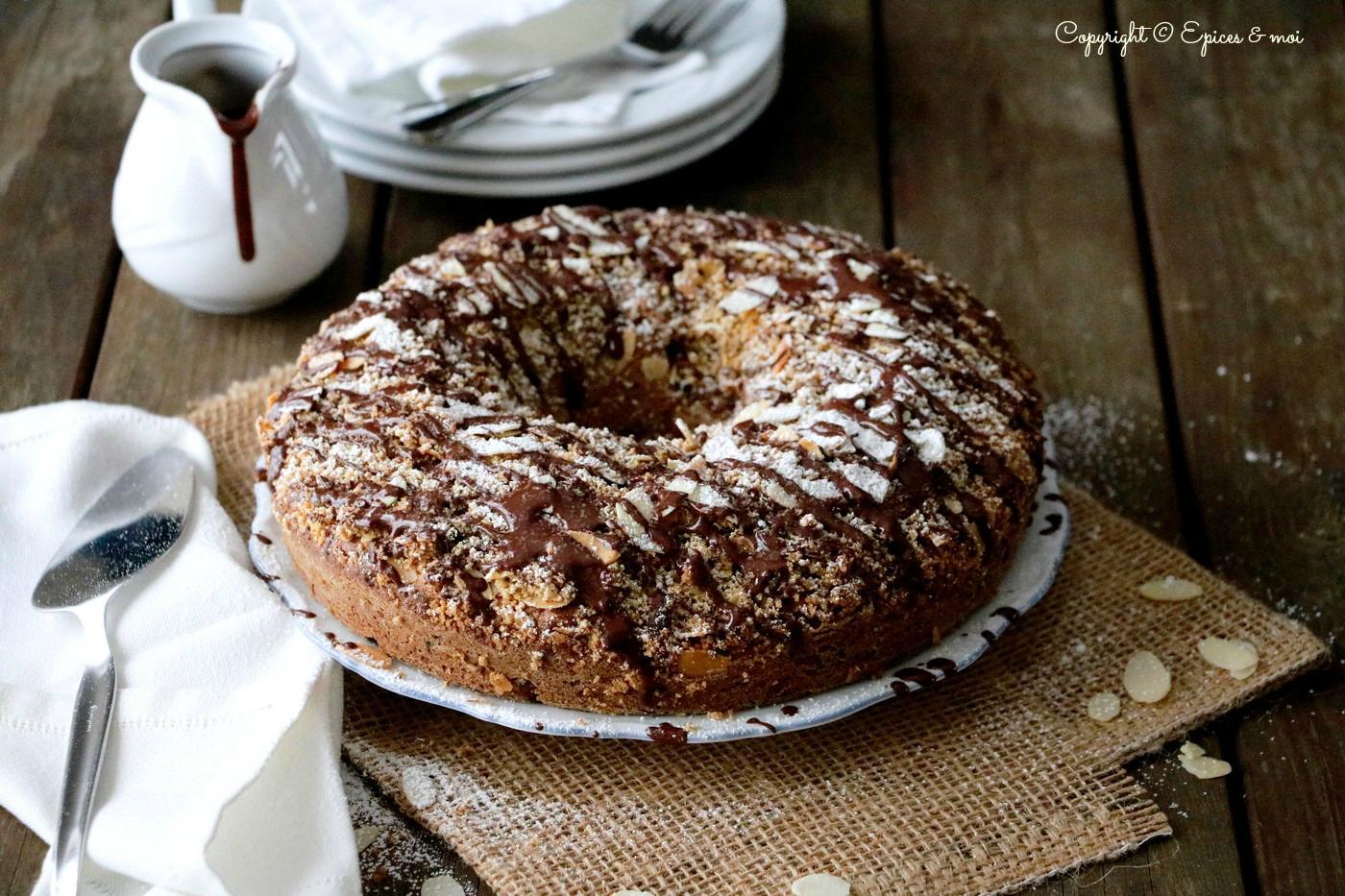 Epices & moi Gâteau choco amandes 1
