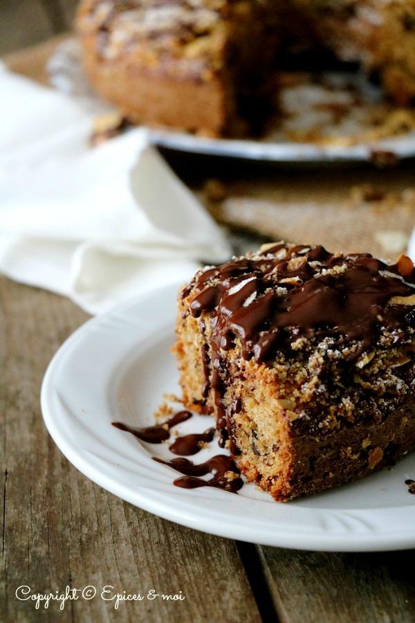 Epices & moi Gâteau choco amandes 4