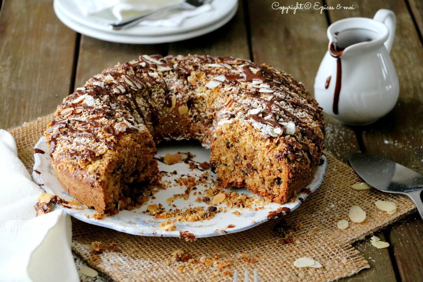 Epices & moi Gâteau choco amandes 5