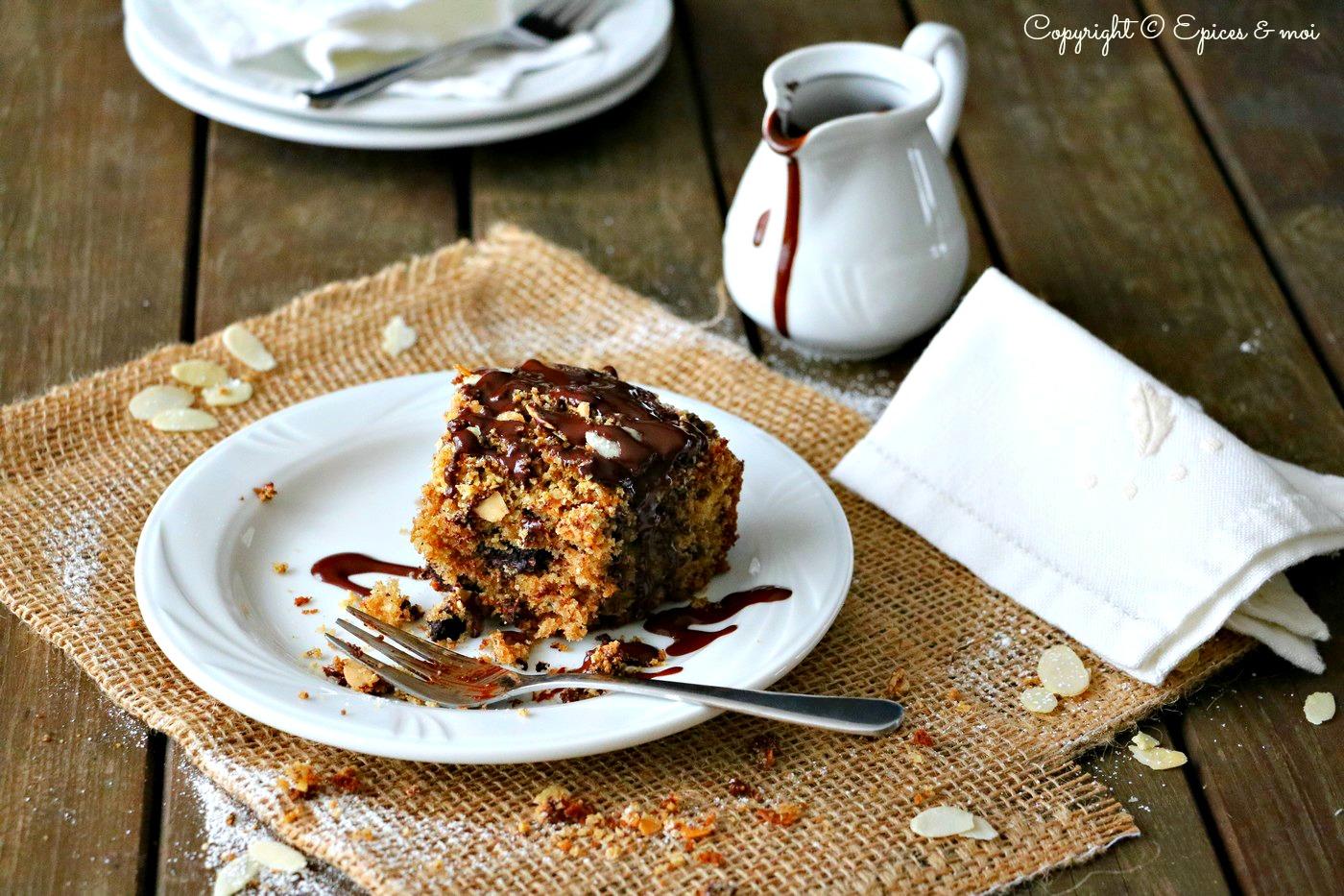 Epices & moi Gâteau choco amandes 6
