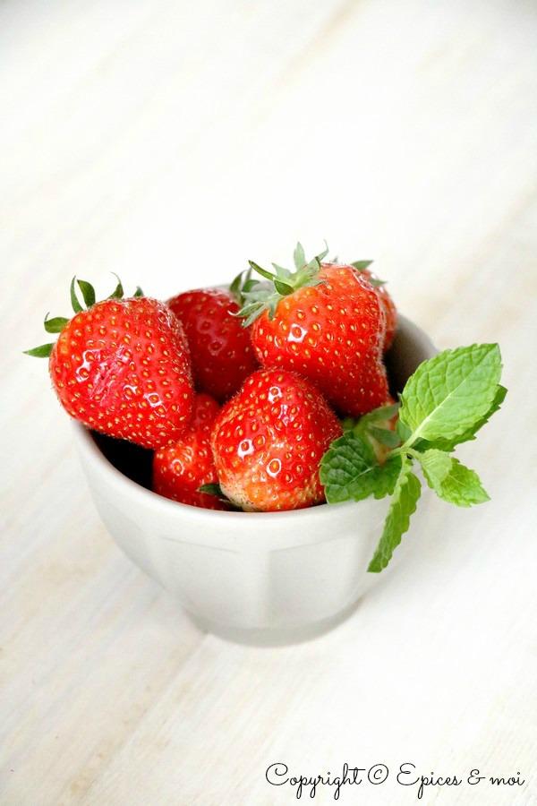 Epices & moi Scones fraises Eco Défi 6