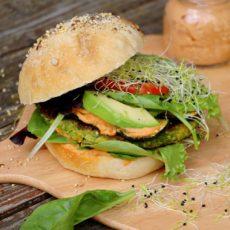 Epices & moi Veggie burger 1