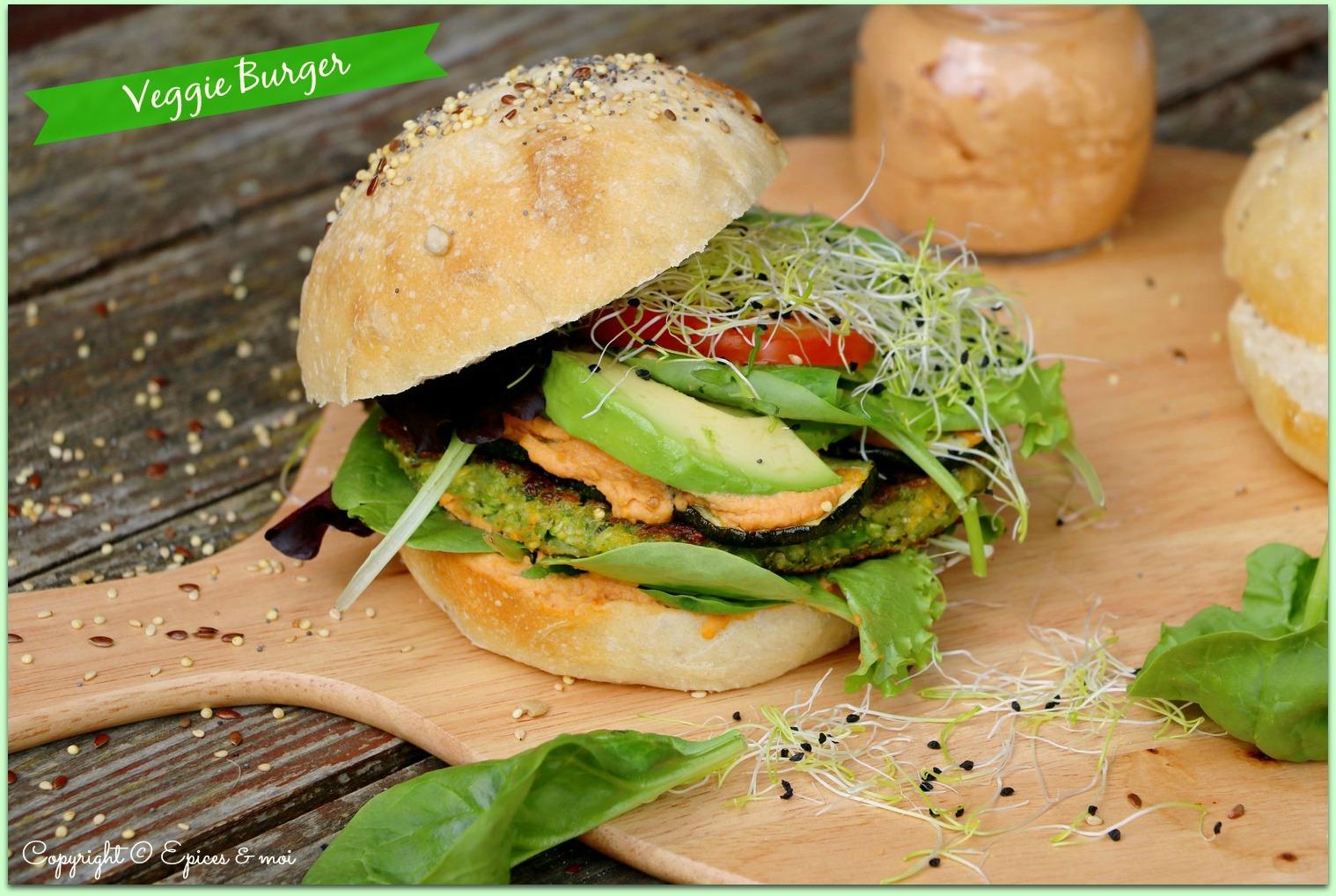 Epices & moi Veggie burger 1bis