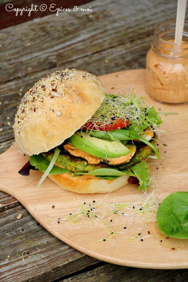 Epices & moi Veggie burger 4