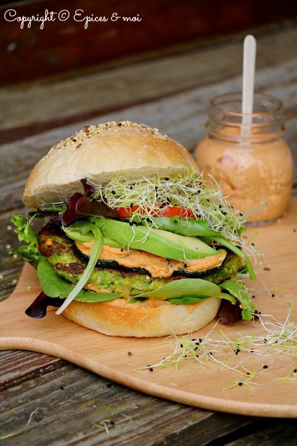 Epices & moi Veggie burger 5
