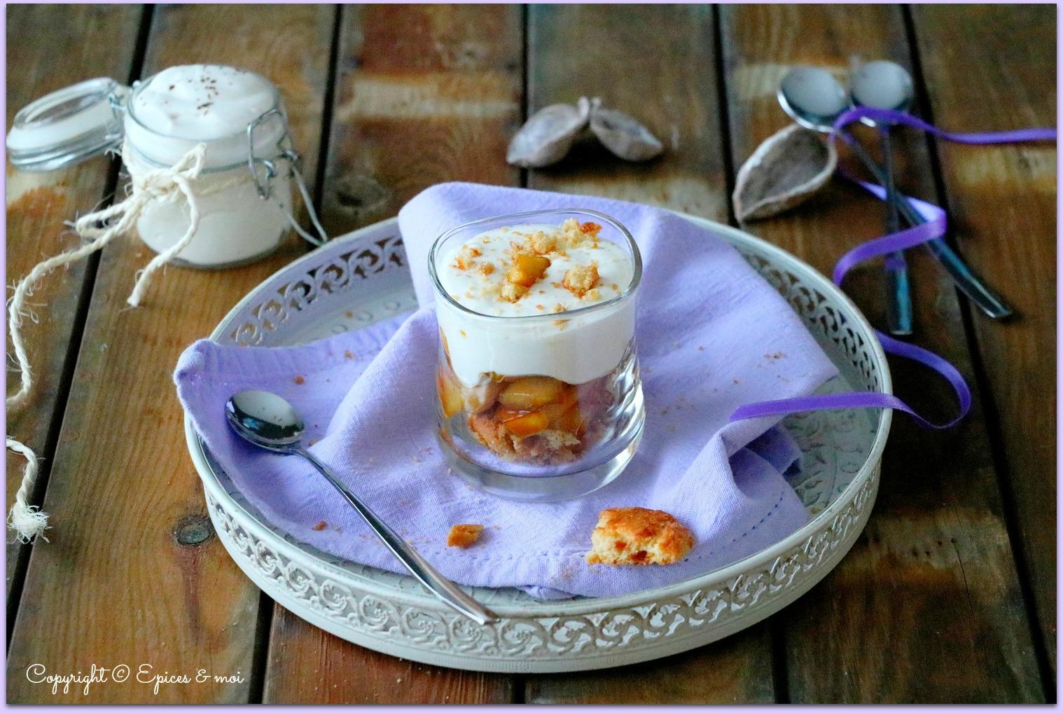 Epices & moi Verrine pommes yaourt 1bis