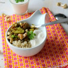 Epices & moi Dhal lentilles rhubarbe 1