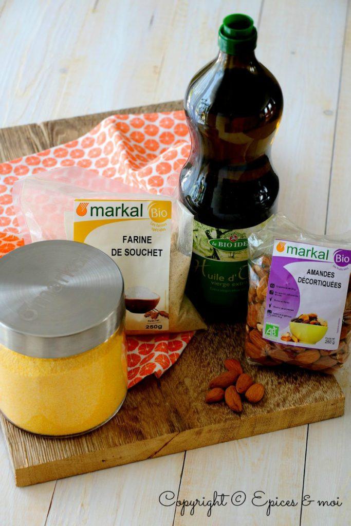 Gâteau polenta Markal 1