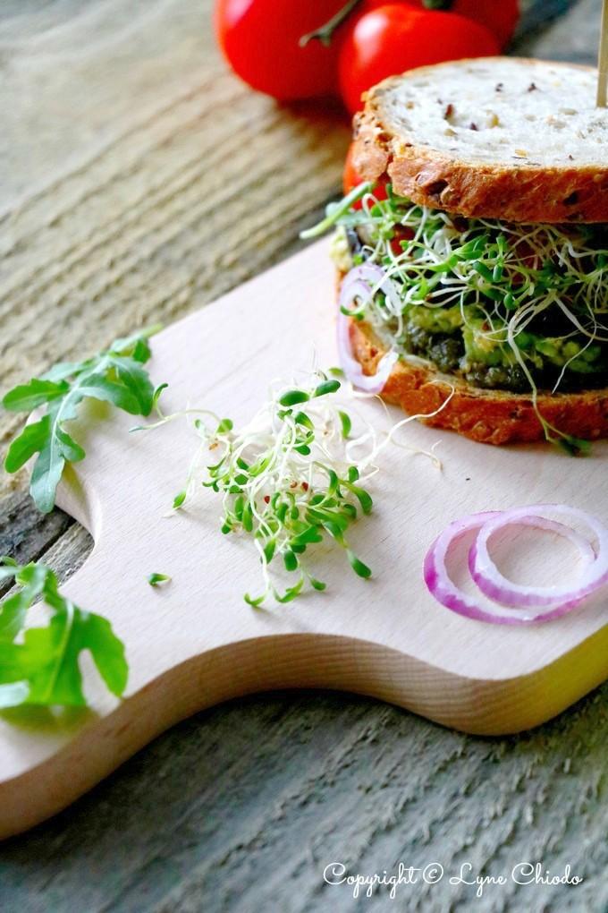 Sandwich Aubergines luzerne 4