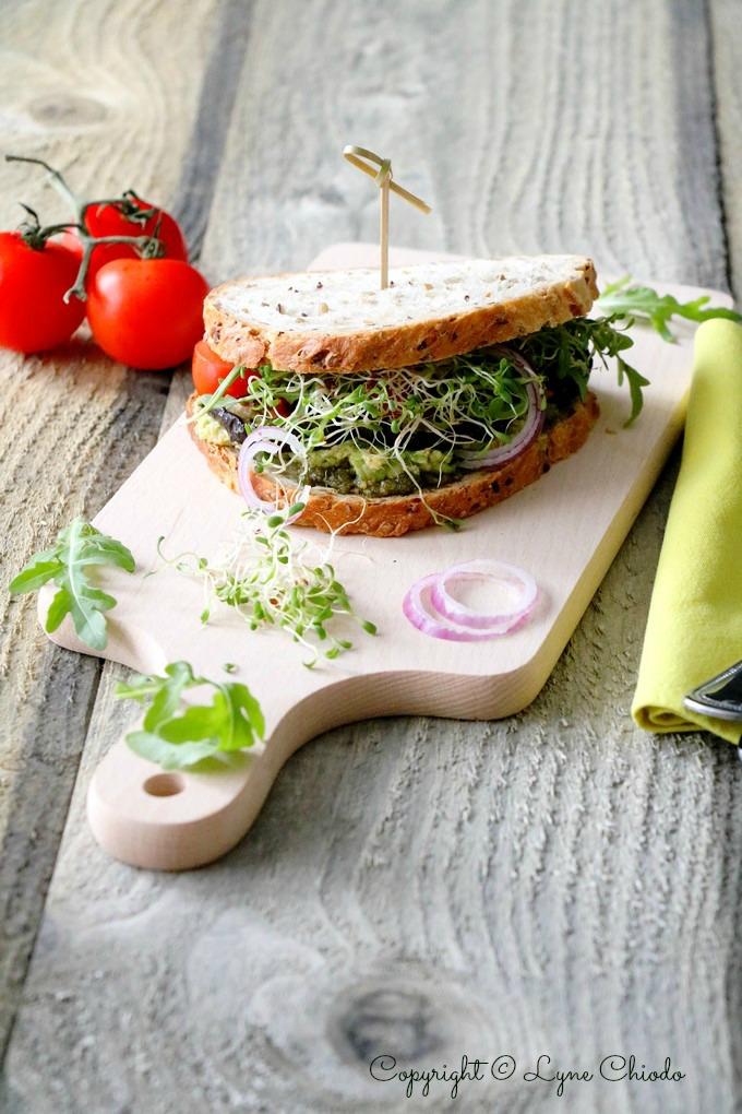 Sandwich Aubergines luzerne 5