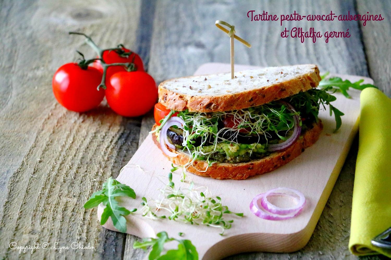Sandwich Aubergines luzerne 6