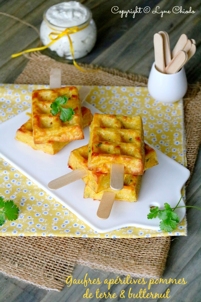 Epices & moi - Mini gaufres de pommes de terre et Butternut