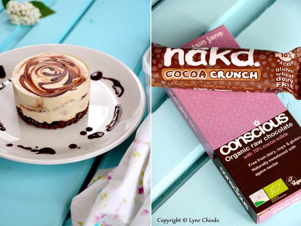 Epices & moi - Mini cheesecake cru vanille chocolat