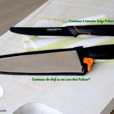 Epices & moi - Lot des couteaux Fiskars