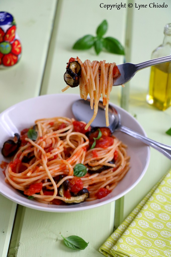 Epices & moi - Spaghetti alla Norma