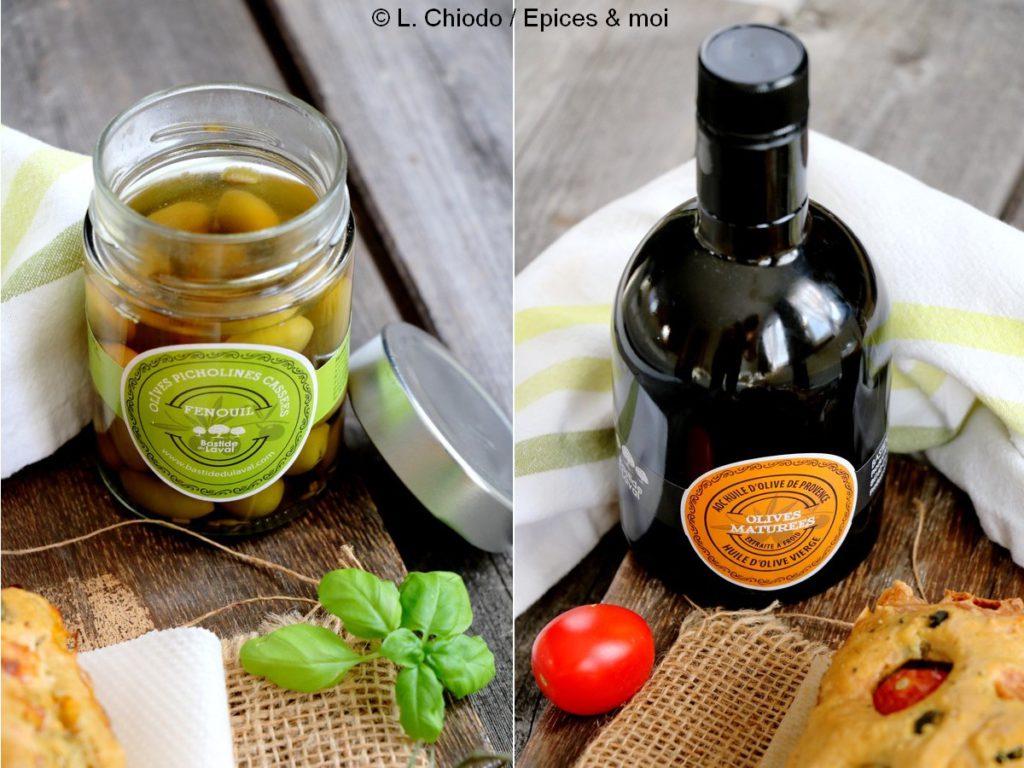 Epices & moi - Huile d'olive fruitée noire et picholines au fenouil / Bastide du Laval