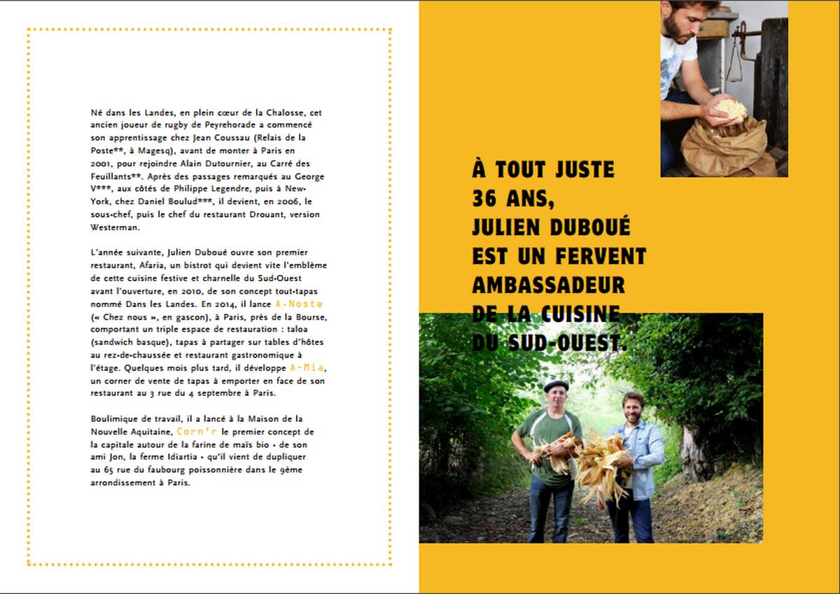 Julien Duboué - 100 % Maïs / Editions Ducasse