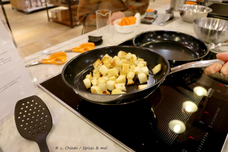 Recettes - Croûtons de pain rôti à l'ail