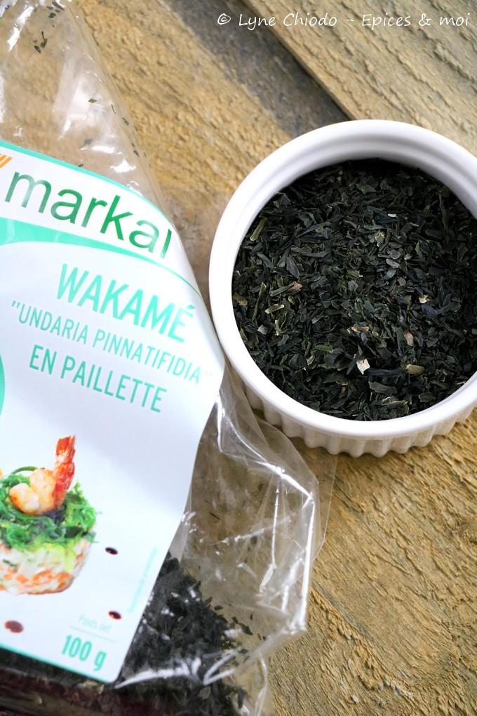 Epices & moi - Algues wakamé Markal