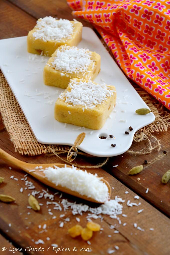Epices & moi - Pudding de maïs mauricien