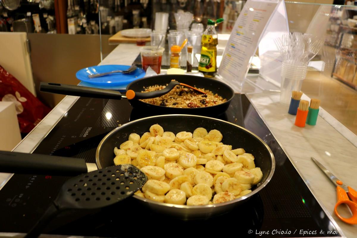Epices & moi - Bananes rôties à la cannelle
